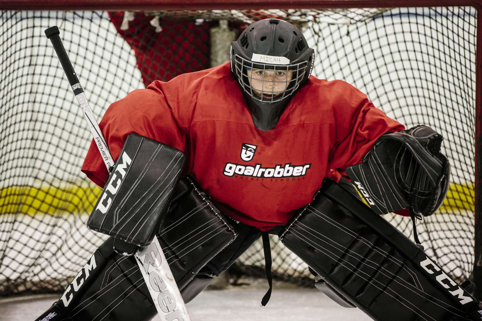 Intermediate Goalie Training Program Goalrobber Hockey Schools