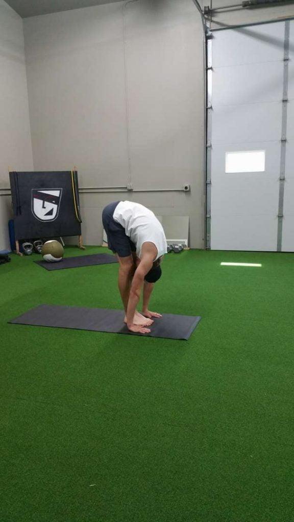 Goalie Yoga Power Sequence Goalrobber Hockey Schools