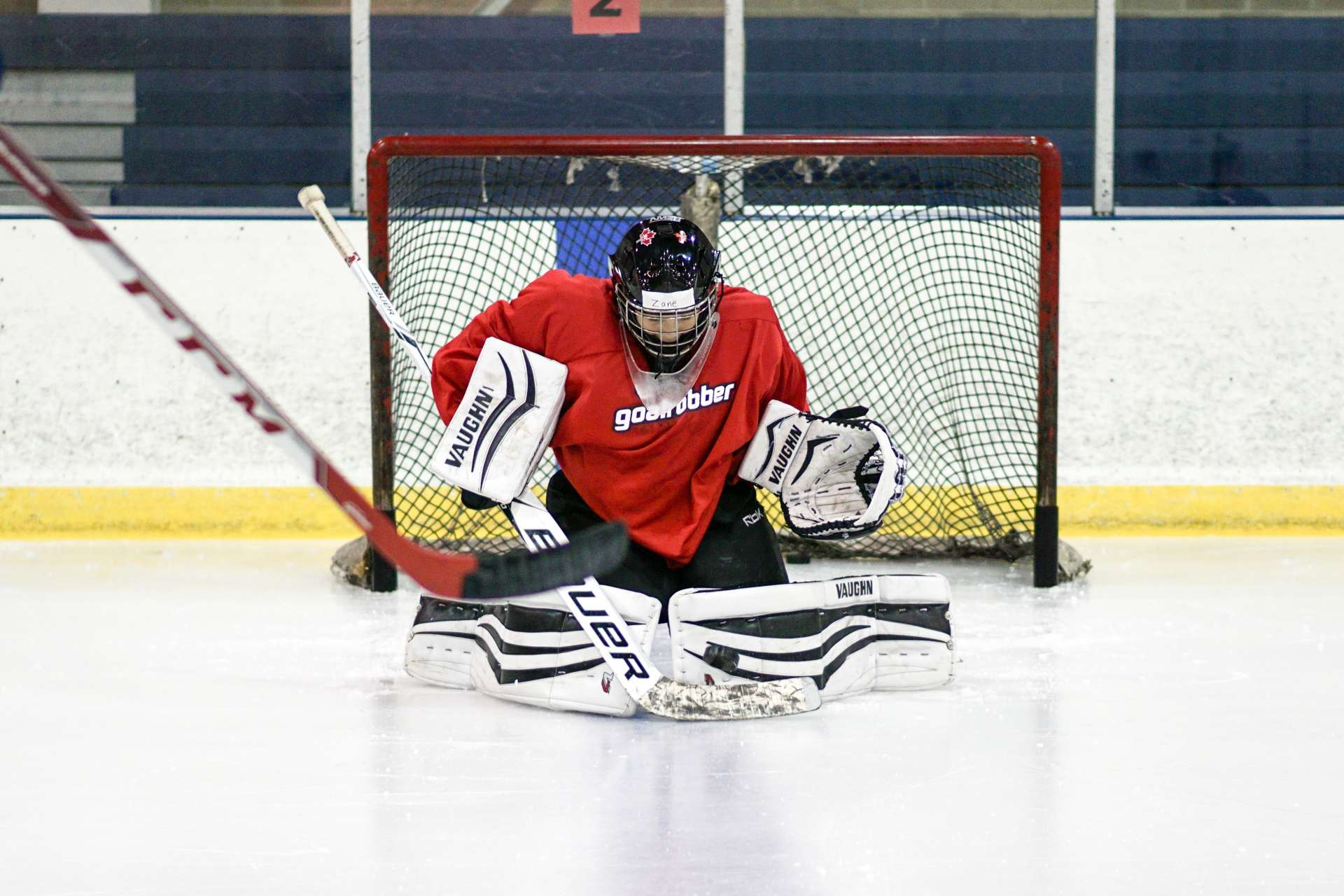 Advanced Goalie Training Program Goalrobber Hockey Schools